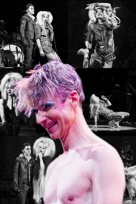 Happy birthday john cameron mitchell...you are incredible and an inspiration to us all