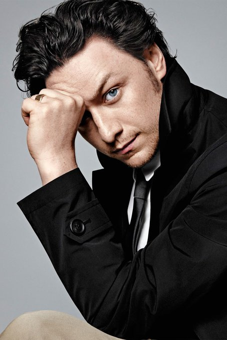 Happy birthday, James McAvoy!  by via