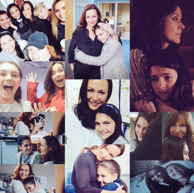 Happy Birthday to the amazing Amanda Mealing! By far the best onscreen mother & daughter