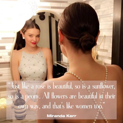 Happy birthday, Miranda Kerr!