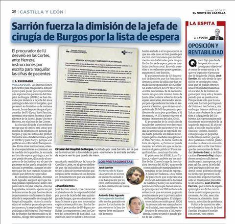 RT @JorgeBarragan_: Grandisimo trabajo de @iucyl en defensa de nuestra sanidad publica y de calidad @jsarrionan https://t.co/DR72YvPWyS