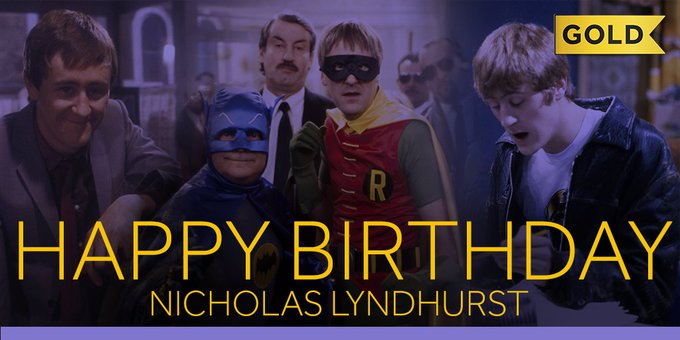 He\s no plonker! Join us in wishing a very Happy Birthday to Nicholas Lyndhurst.
