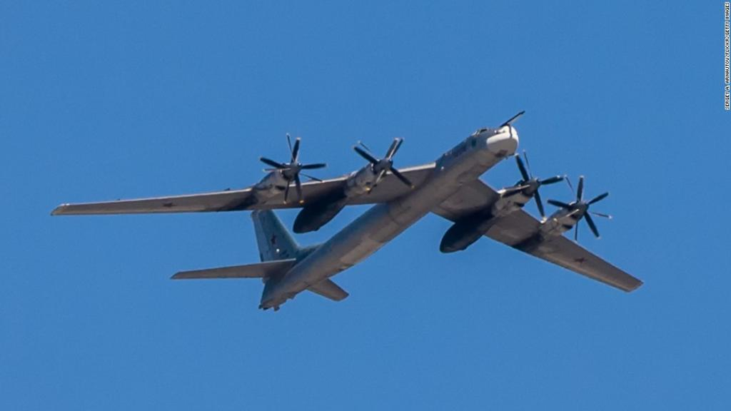 Russian bombers were spotted off the coast of Alaska for the second time in 24 hours https://t.co/UOwKrxmspl https://t.co/3zpcurfZfB
