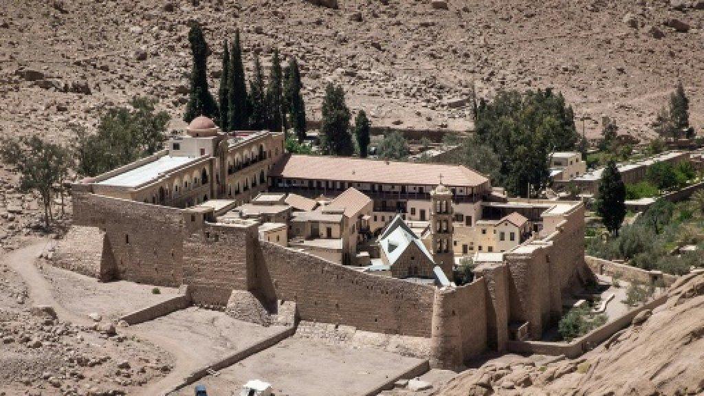 Egypt says killed Sinai monastery shooter