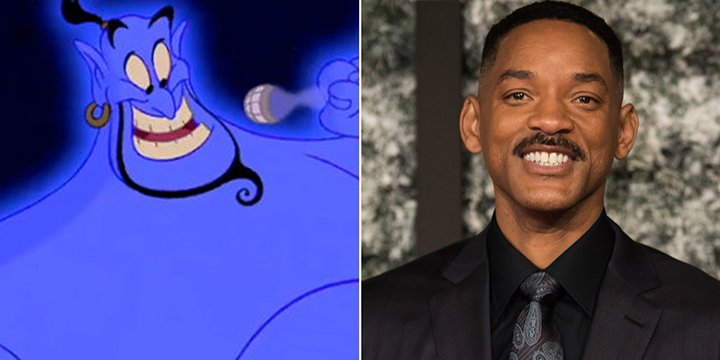 Will Smith is in early talks for the role of Genie in Disney's live-action