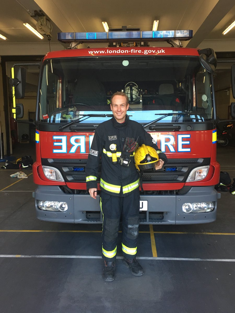 #Acton firefighter Luke is running #LondonMarathon for @tipcharity after they care for sick for daughter Lily Rose https://t.co/WRN77bmyUO