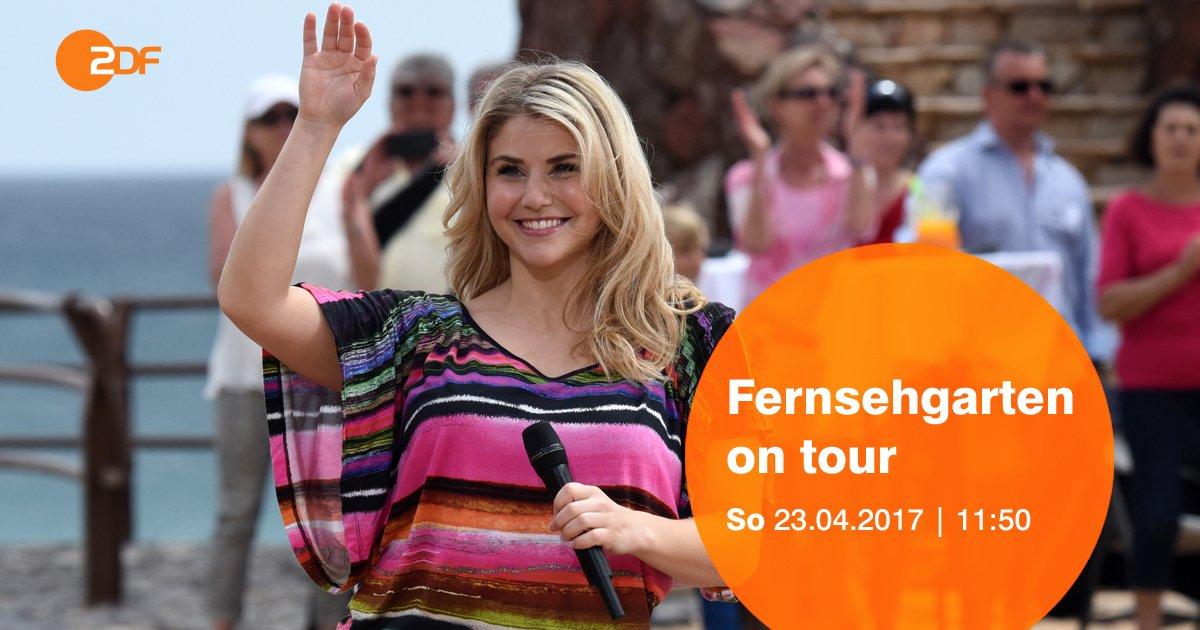 Fernweh? Der #Fernsehgarten on Tour nimmt uns heute mit nach Fuerteventura. U.a. sind @beatriceegli und @dielochis mit dabei!
