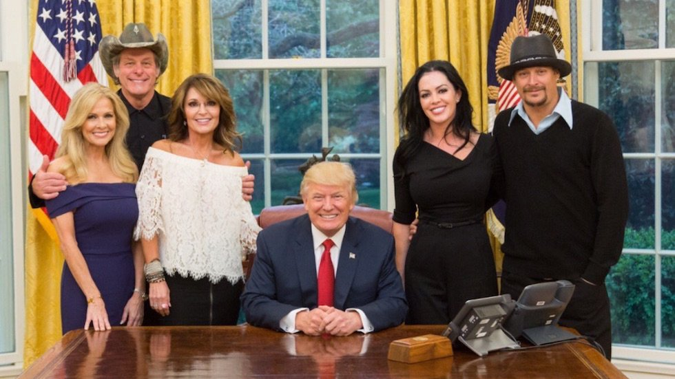 White House With Ted Nugent
