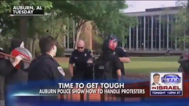 Police at Auburn University enforce a 'no mask rule' for protesters https://t.co/21aWGYGPCJ