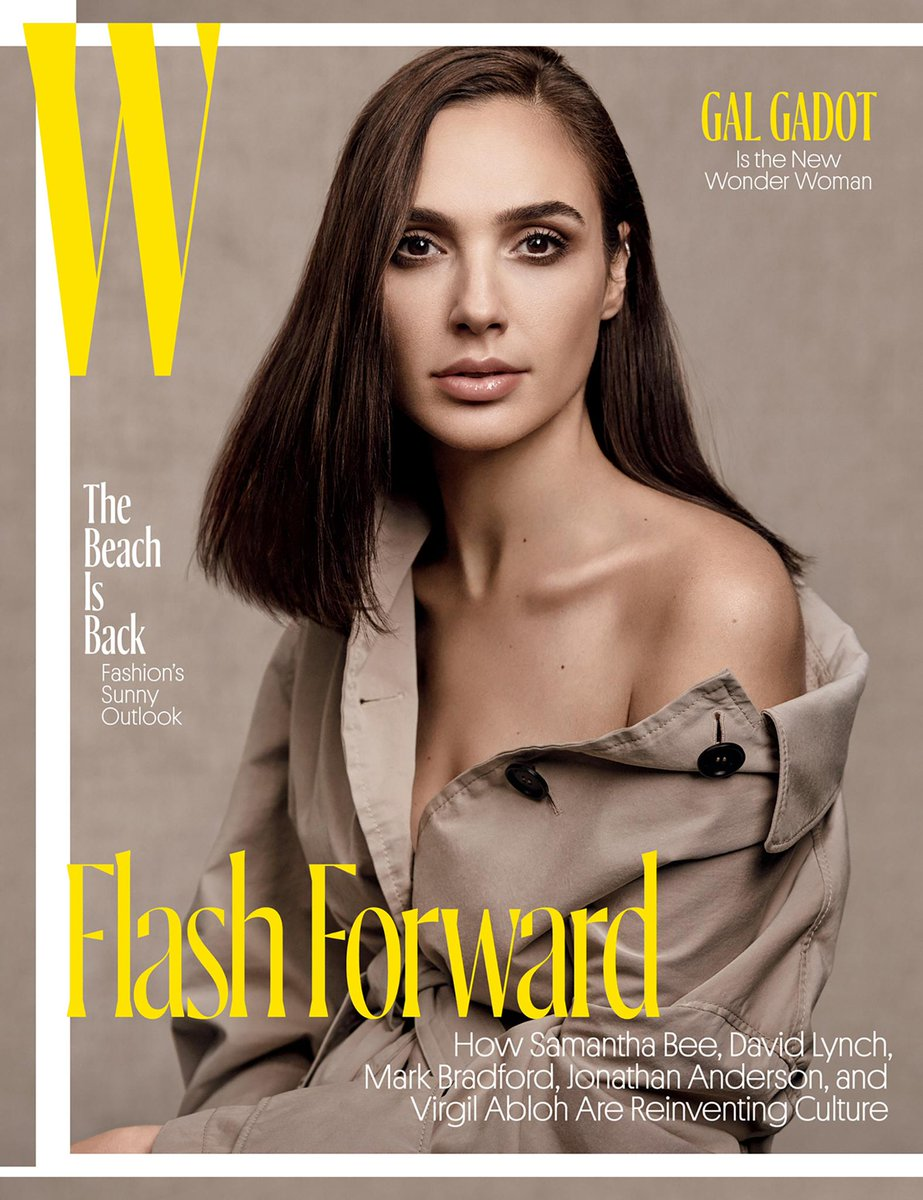 .@GalGadot wears a @Burberry tropical gabardine coat on the May cover of @WMag, styled by @Edward_Enninful https://t.co/QxYR8tKY3q