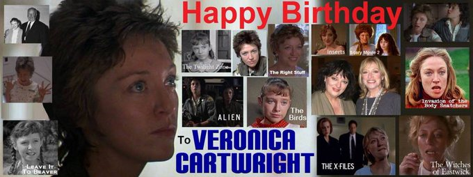4-20 Happy birthday to Veronica Cartwright.