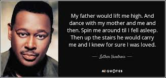 HAPPY BIRTHDAY   Luther Vandross 4/20/1951 - 7/1/2005