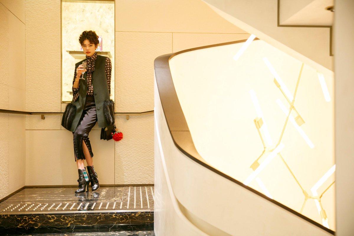 Hikari Mori celebrates the new #FendiGinza boutique at #GinzaSix in Tokyo! https://t.co/AXdBpGdmP1