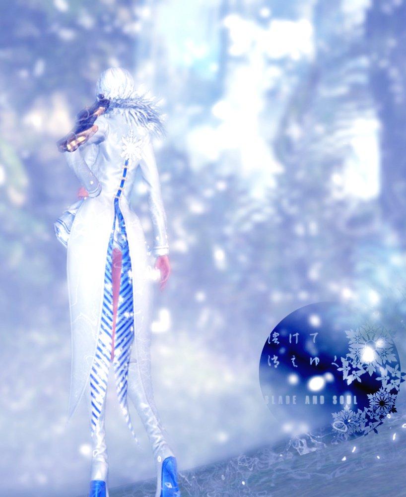 レベルが低すぎて雪景色に行けなかったのは内緒#ブレイドアンドソウル