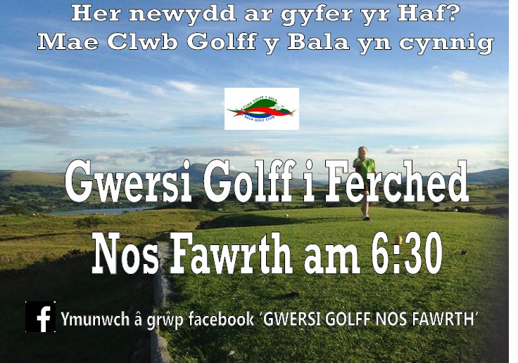 test Twitter Media - Her Newydd ar gyfer yr Haf? #Gwersi #Golff yn cychwyn nos Fawrth nesaf 25/04 am 6:30pm! @GDW_Golf @golfunionwales @HociPenllyn @YWAWR https://t.co/NvmxkDx3c1