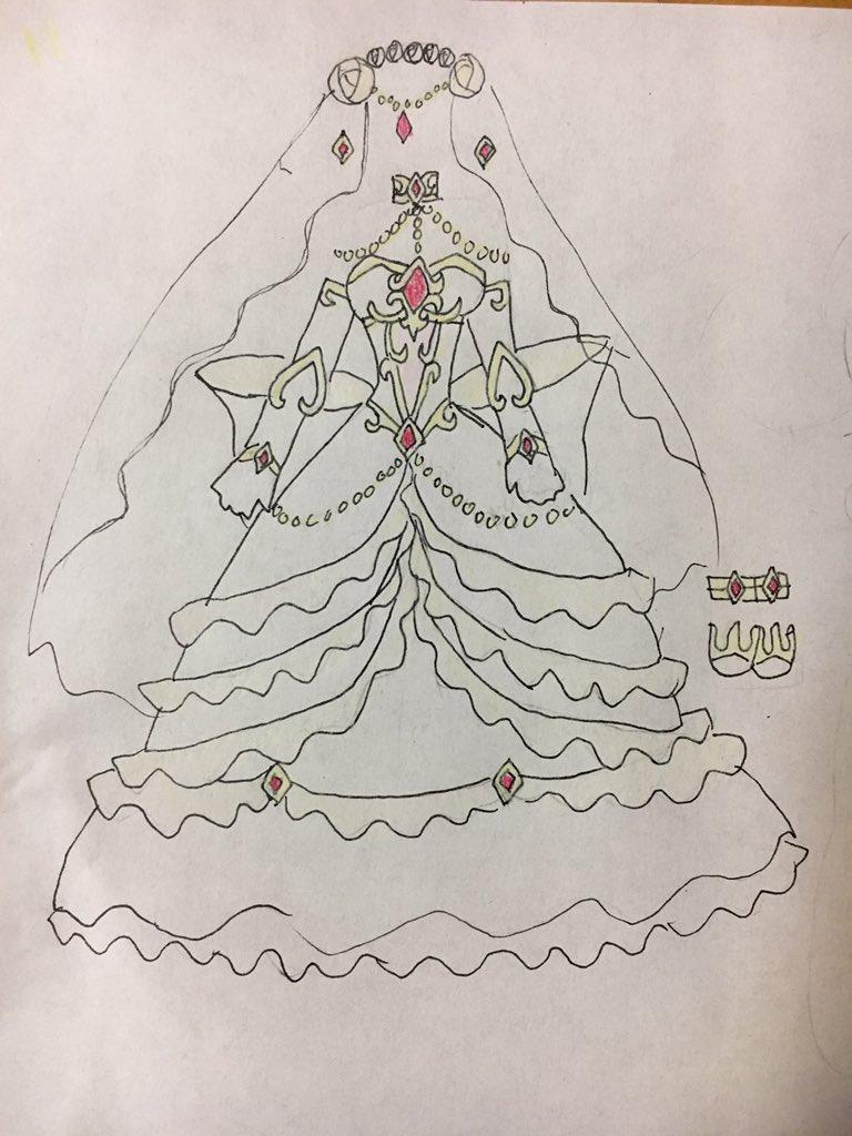 煉獄帝アレスオレコマンド記念に(今更)煉獄の花嫁衣装 #オレカ #オレカバトル