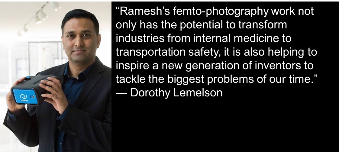 A conversation with @raskarmit: @LemelsonFdn talks to the head of the Camera Culture group and Lemelson prize winner https://t.co/ibqCqE3M7y