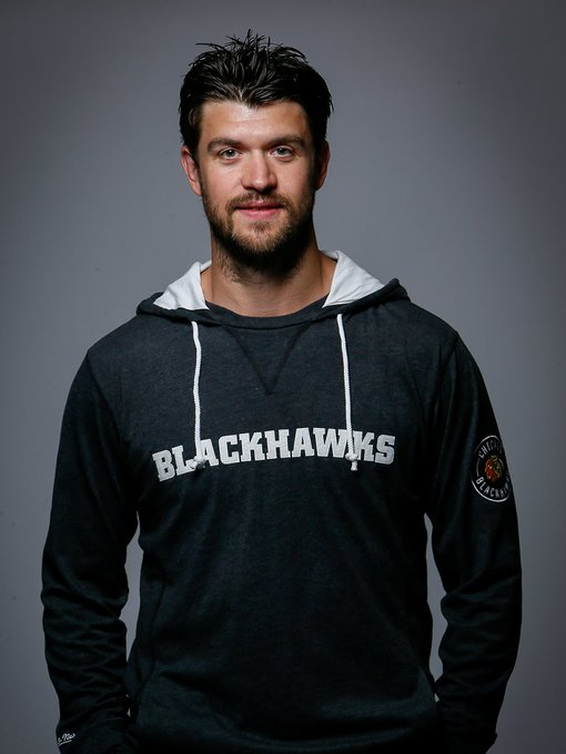 Happy Birthday, Brent Seabrook! Brent is wearing the Away Team Hooded Long Sleeve.