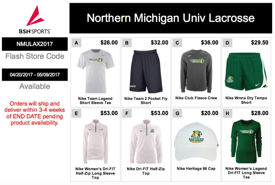 test Twitter Media - .@nmuwlax's third flash store shuts down tonight. Get your gear while you can! Details here: https://t.co/ybUDYIQSjC https://t.co/tRKDX1tsrT