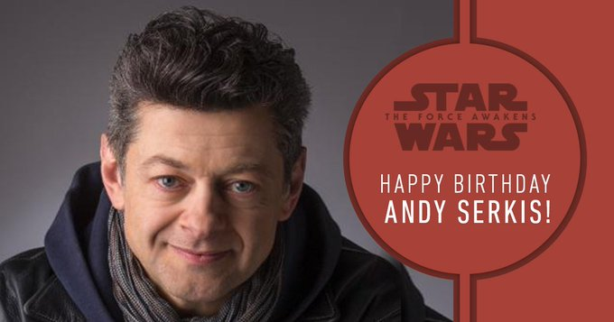 >> Happy Birthday, Andy Serkis!