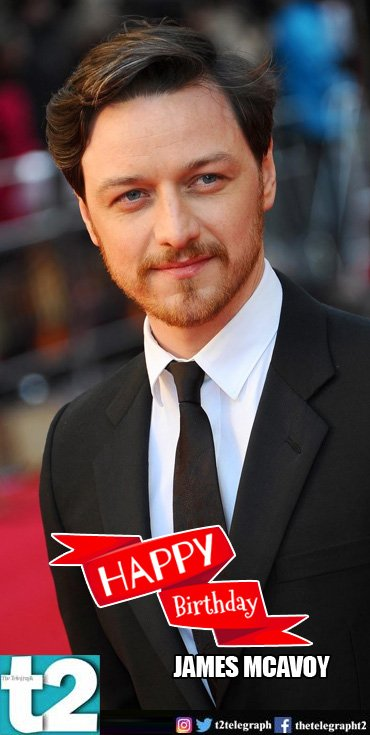 X-Men to Split, he\s Holly\s most \Wanted\. Happy birthday, James McAvoy!