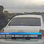 Santee PD stands behind officer who broke car window in traffic - | WBTV Charlotte