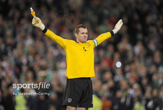 Happy Birthday to legendary Irish goalkeeper Shay Given.