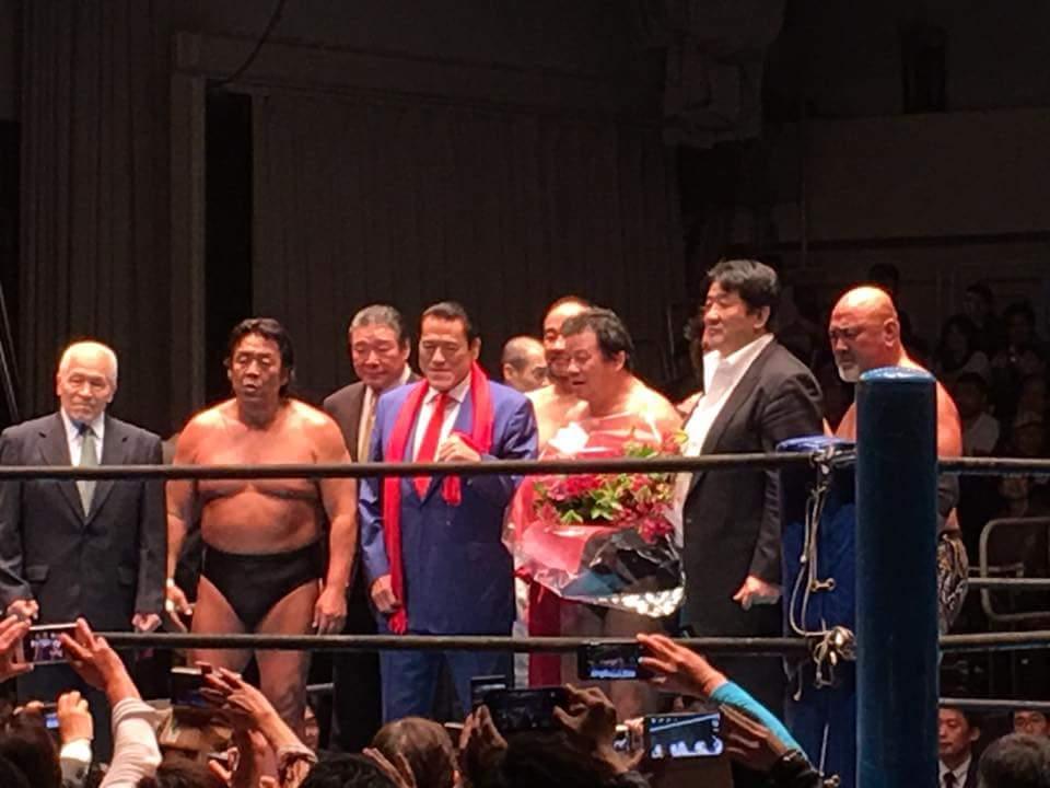 藤波辰爾さんデビュー45周年記念後楽園大会に出場させていただきました。ゴールデンタイム世代に活躍されたプロレスラーの存在