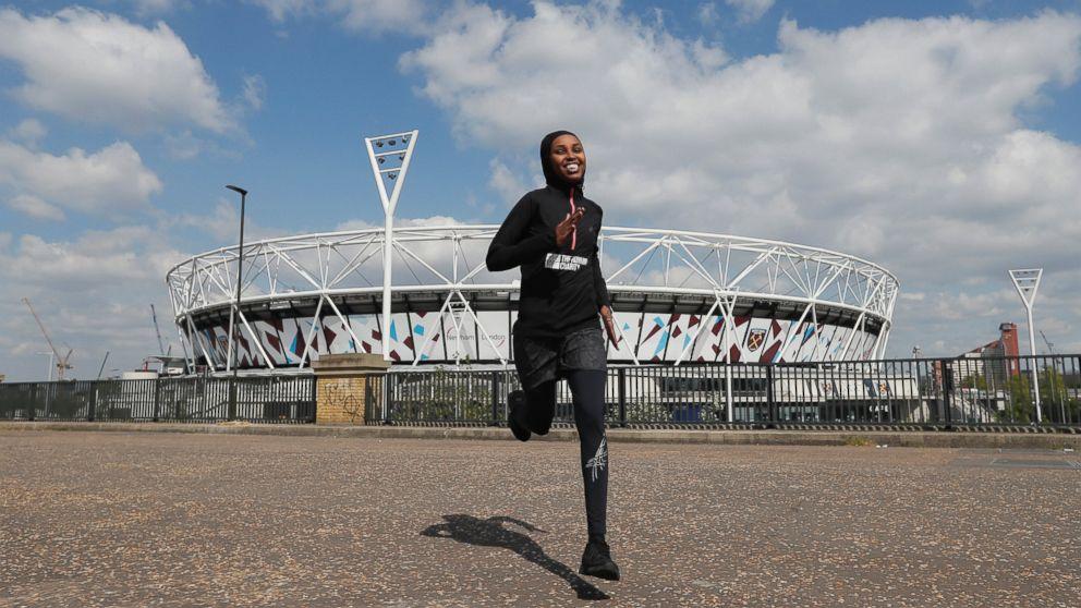 Granted UK asylum after 2012 Olympics, Somalian to run again