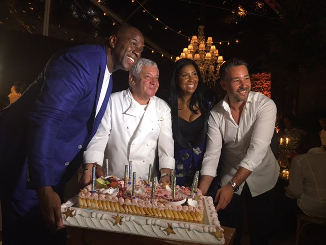 #tbt Last Fall when we went to the best 25th Anniversary Party of all time! #EC25. Congrats again Earvin and Cookie! https://t.co/czRVKYNOnb
