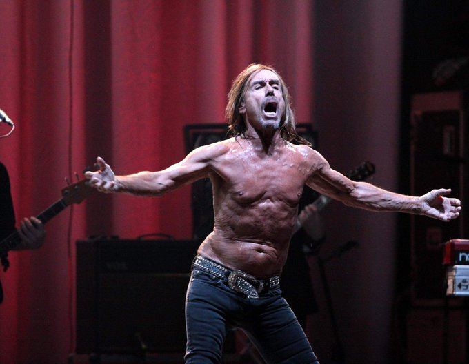 OGGI L\IGUANA DEL ROCK COMPIE 70 ANNI!  HAPPY BIRTHDAY IGGY POP