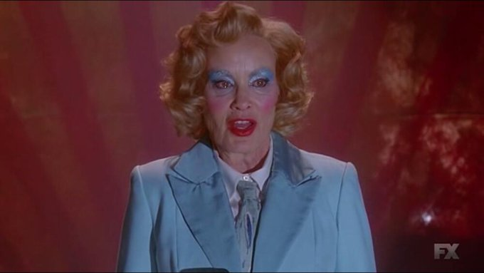 "Happy birthday  ""To the brightest and the best that ever was and ever will be Jessica Lange\"""