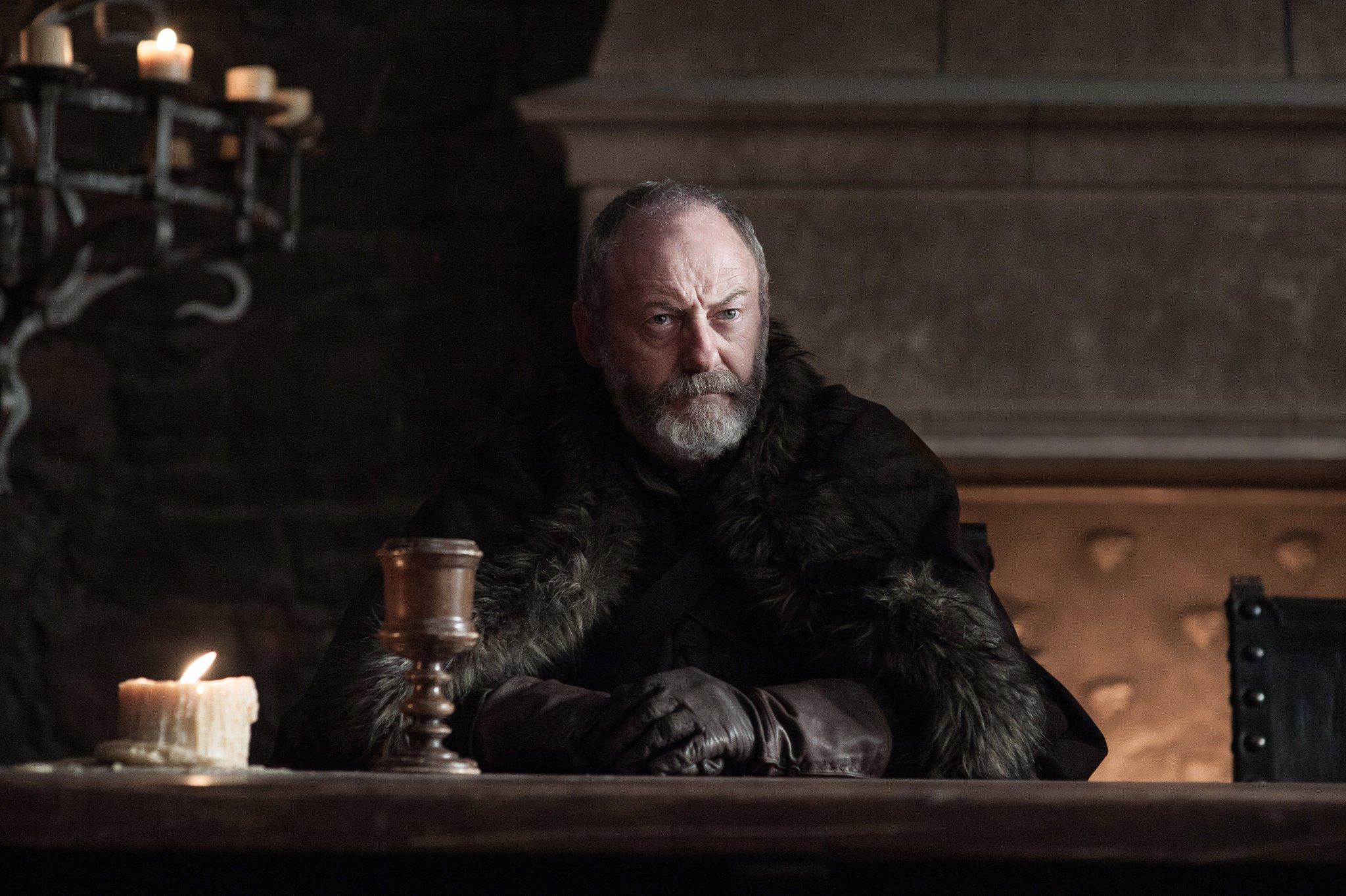 .@Liamcunningham1 as Davos Seaworth. #GoTS7 #GameofThrones (Photo Helen: Sloan/HBO) https://t.co/ZOYZ7IFd8e