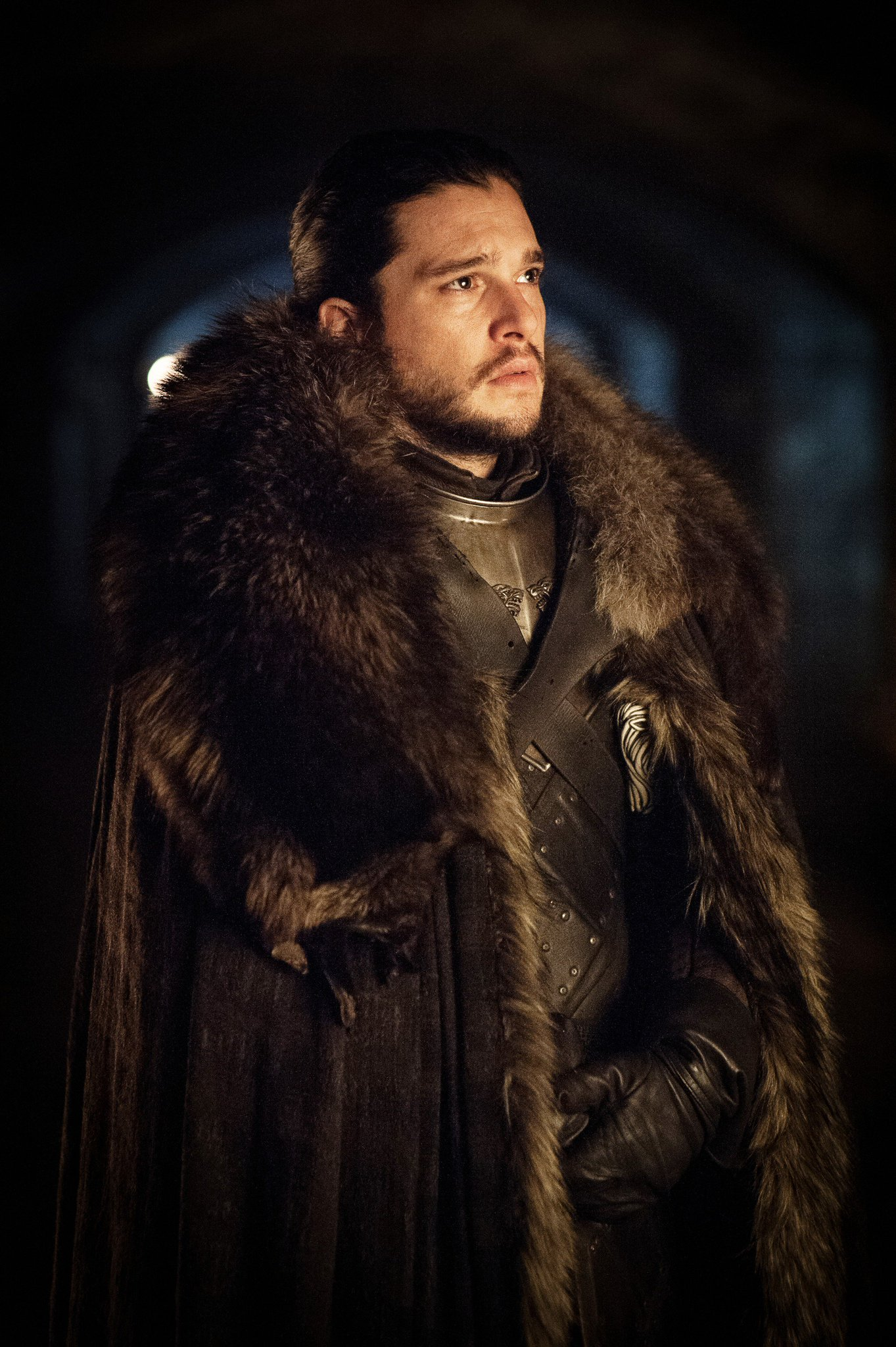 Kit Harington as Jon Snow. #GoTS7 #GameofThrones (Photo Helen: Sloan/HBO) https://t.co/UNQEOW2GCv