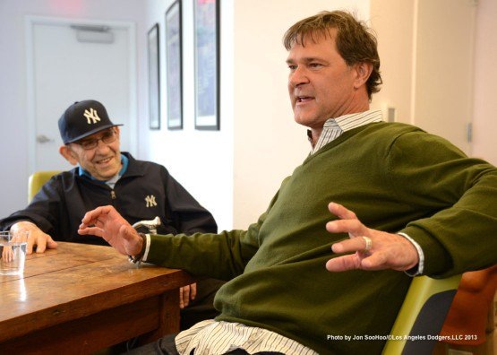 Happy birthday to the great Don Mattingly, who wears in honor of his buddy Yogi.