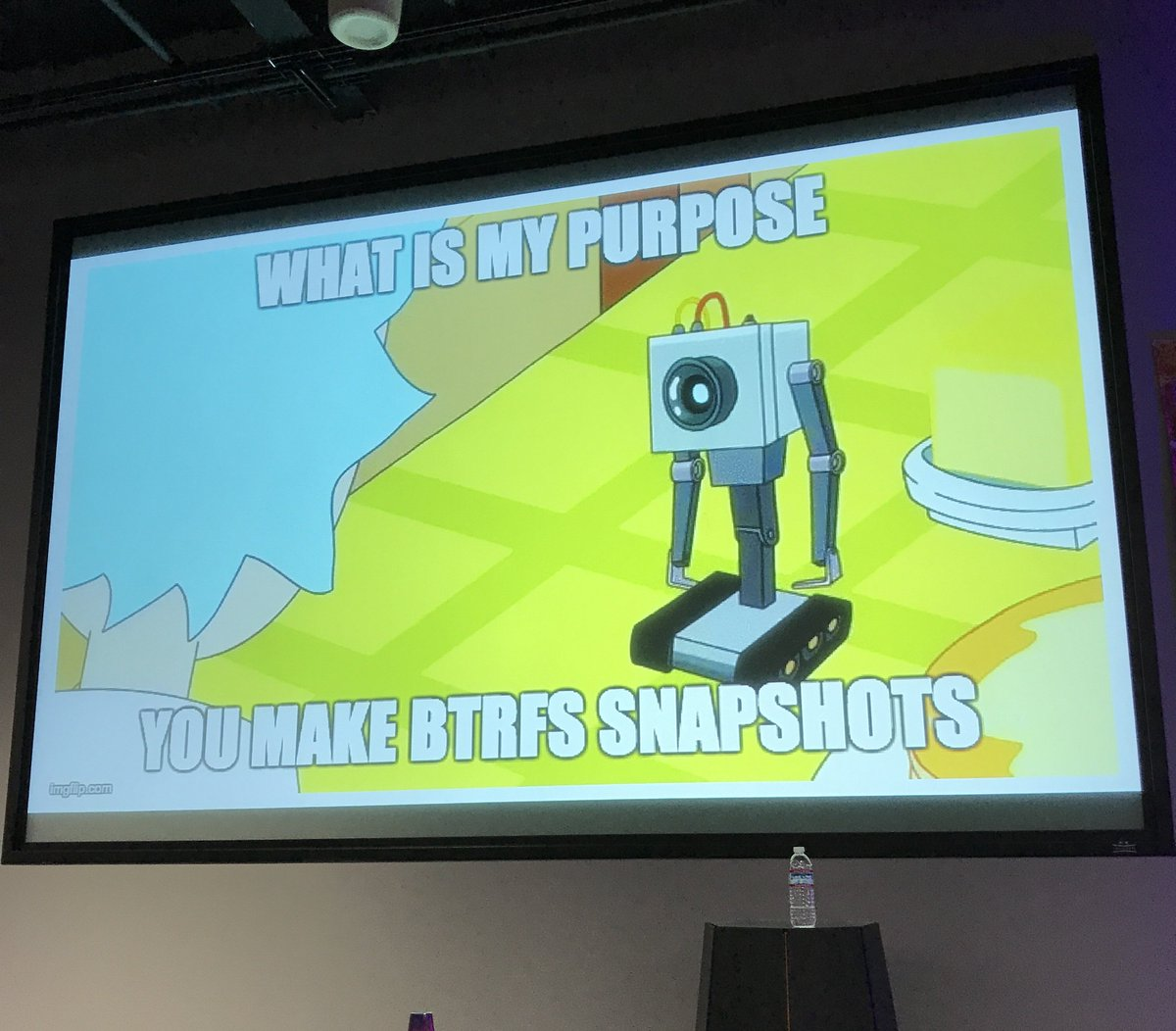 RT @bd: any presentation with a rick and morty reference immediately doubles its legitimacy credits with me. https://t.co/rC07w8J6UB