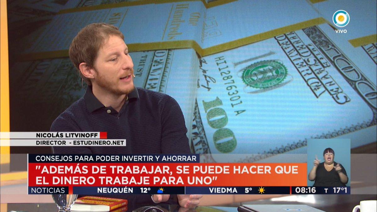 """test Twitter Media - Esta mañana en el noticiero de la TV Pública presentando mi libro """"Cita con tu Independencia Economica"""". https://t.co/vmnxydyaBL"""