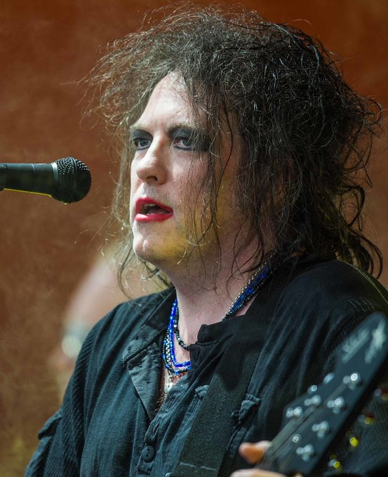 Happy 58th birthday to The Cure\s Robert Smith