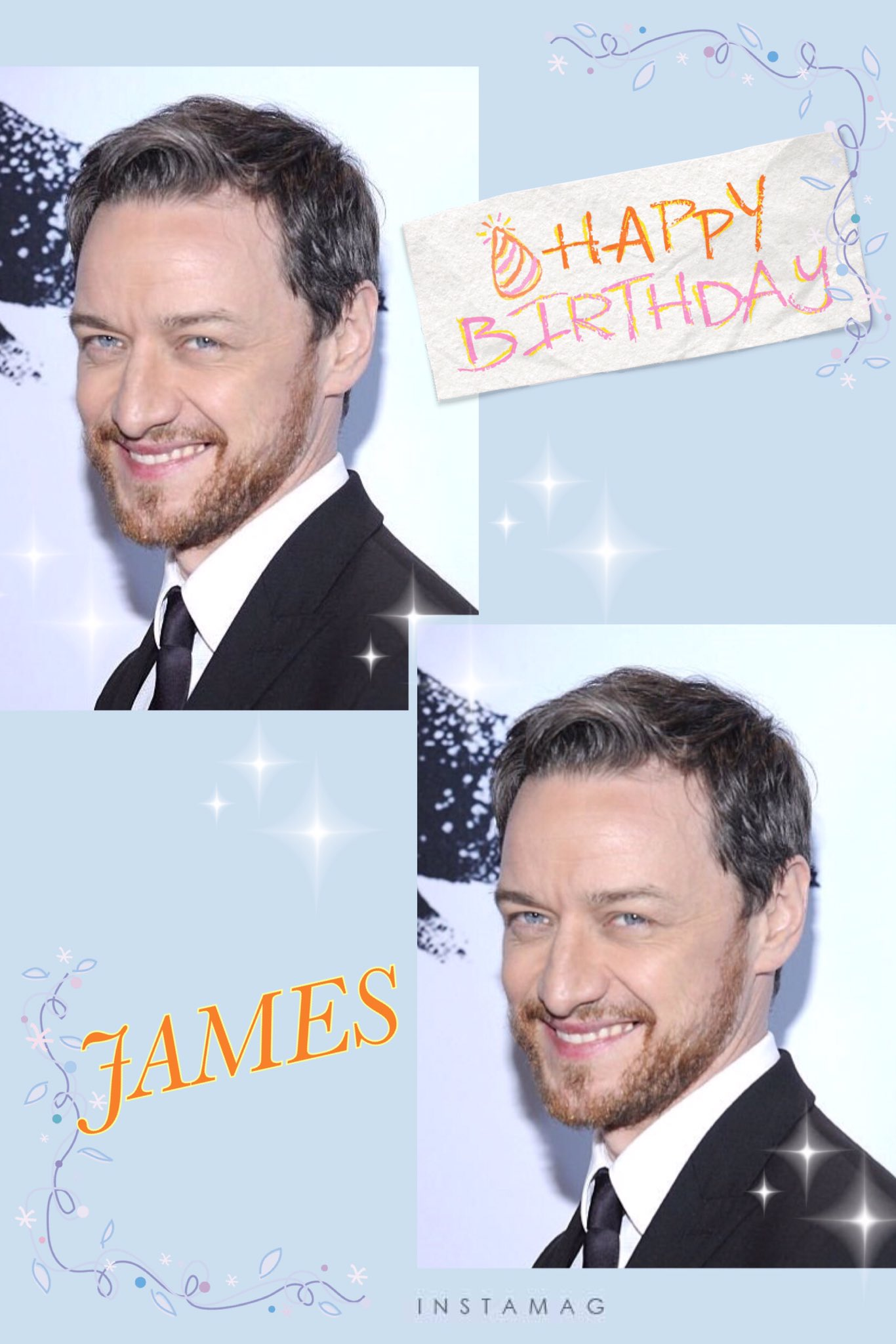 HAPPY BIRTHDAY James McAvoy