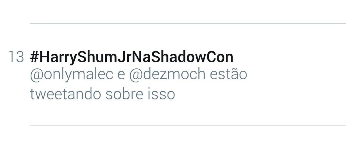 #HarryShumJrNaShadowCon