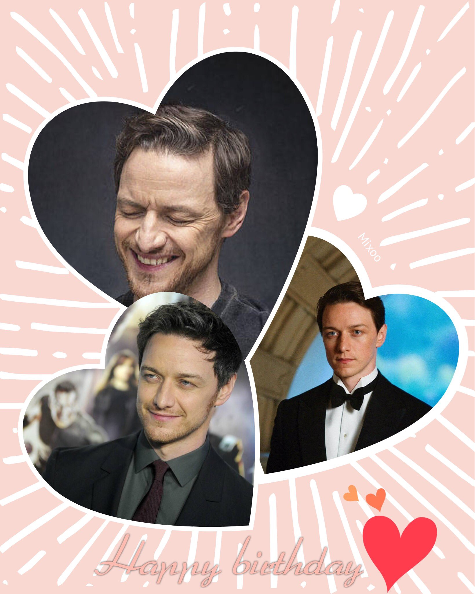 Happy birthday to James McAvoy