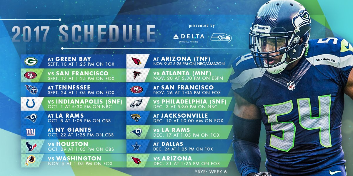 We're thrilled to announce our 2017 #NFLSchedule!  �� | https://t.co/o7fmD7noCA https://t.co/iOXoRHqpxc