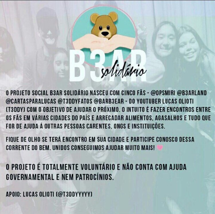 #B3arSolidario