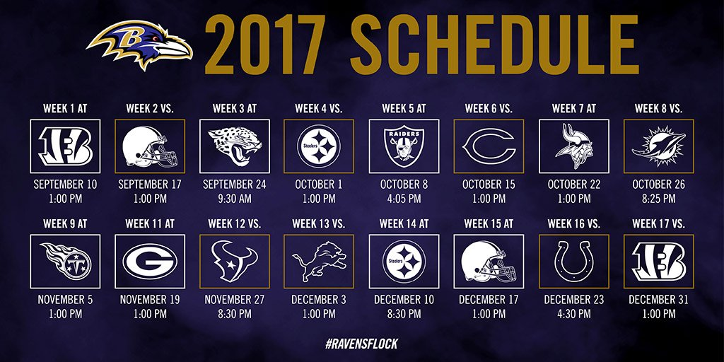 The 2017 schedule has arrived.  ��: https://t.co/Ypck1K0EtY https://t.co/jCIznGYUek