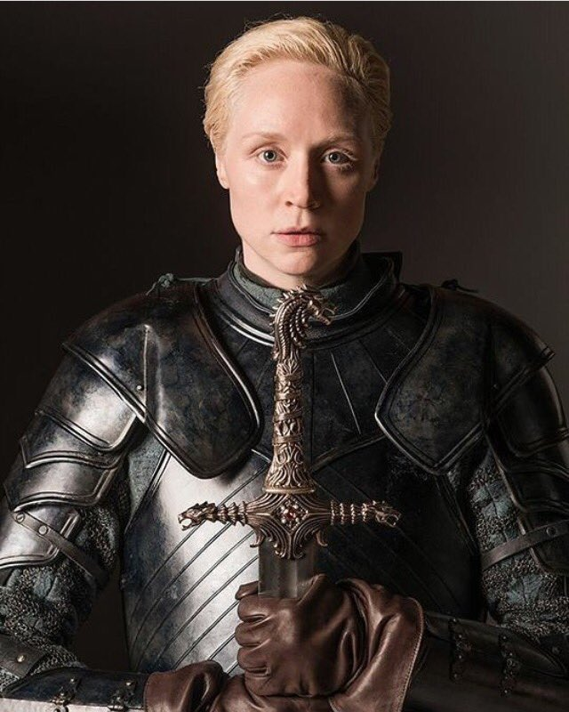 I will always love and be grateful for this photograph by @HelenStills ���� #BrienneOfTarth https://t.co/FyIzN3vn2D