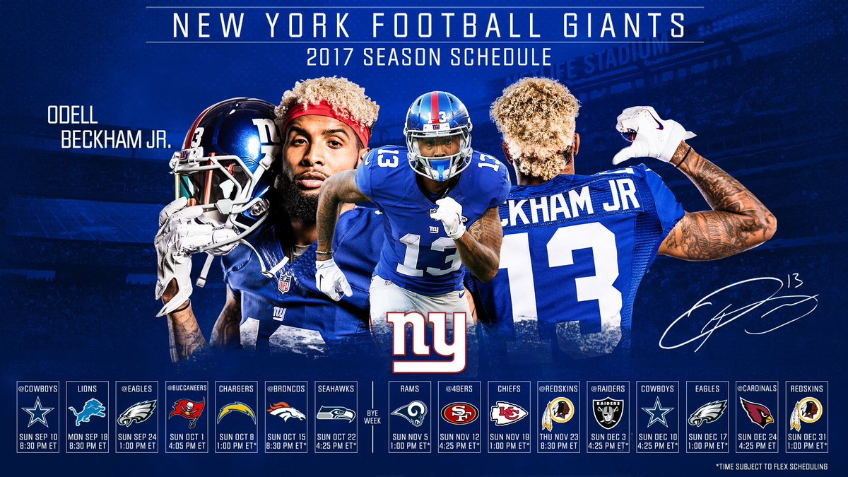 Those 2017 Nygiants Schedule Wallpapers Download Now