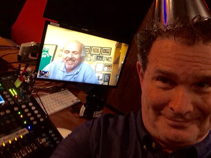 Got my party hat on for Happy Birthday to Clint Howard from the show