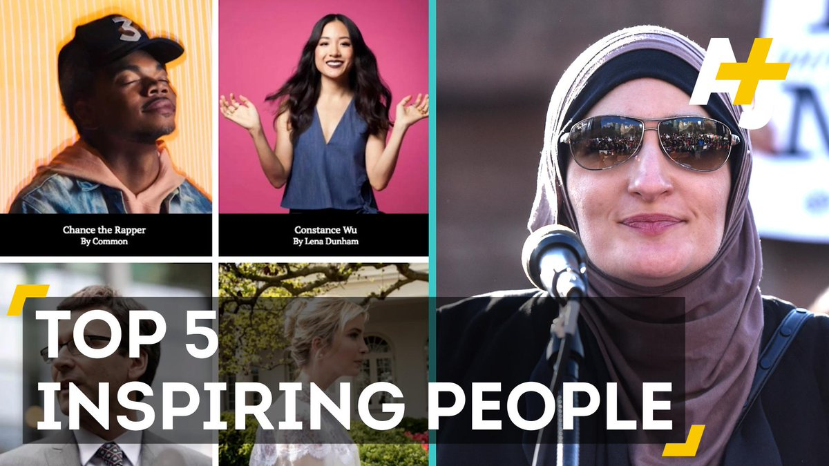 .@Time may list the 100 most influential people, but we picked the 5 most inspiring: