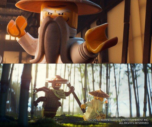 [映画ニュース] ジャッキー・チェンが若手ニンジャの師匠に!「レゴ ニンジャゴー」場面カットお披露目