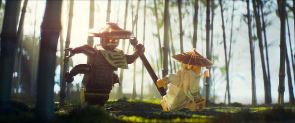 「レゴ ニンジャゴー ザ・ムービー」9月30日日本公開 ジャッキー・チェン演じるウー先生の姿も
